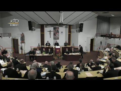Séance d'ouverture de l'Assemblée plénière des évêques à Lourdes