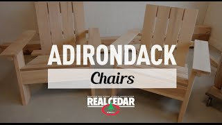 How to build: Adirondack Chair