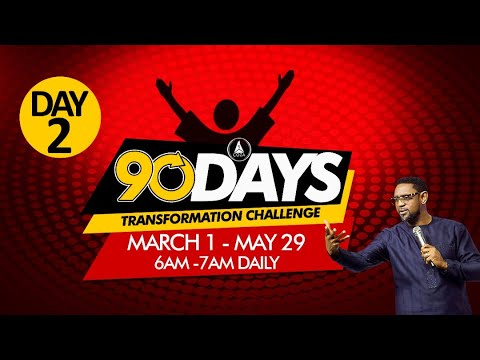 COZA 90 Day Challenge Tuesday 2nd March 2021 – Day 2