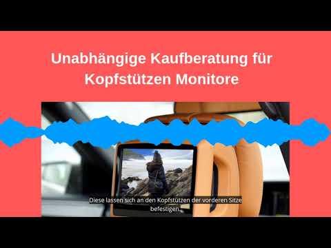 Kopfstützen Monitor Test 2019 - die besten 5 Auto DVD Player im Vergleich