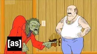 You Ain't Just Watching the Game | Aqua Teen Hunger | Adult Swim