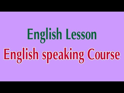 Learn English Online - English speaking Course English Lesson ...