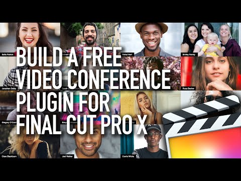 Free Video Conference Plugin for Final Cut Pro X (Watch Me Work) FCPX