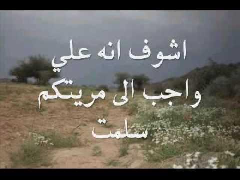 قصيدة الشاعر سعد بن جدلان بصووت راشد ال مسعود المري