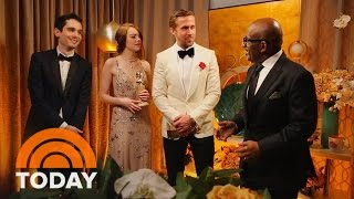 Video Ryan Gosling, Emma Stone, More: Al Roker Talks To Golden Globe Winners | TODAY