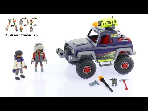 Vidéo PLAYMOBIL Action 9059 : Véhicule tout terrain avec pirates des glaces