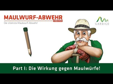 Maulwurf - Ameisen - Abwehr Vibration Teil 1