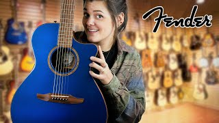 Fender Newporter Classic Acoustic Guitar