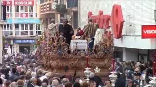 preview picture of video 'LA SAGRADA CENA DOMINGO DE RAMOS 13 DE ABRIL DE 2014 HUELVA'