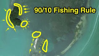 90/10 Fishing Rule: How To Find 90% Of All Feeding Fish (In Just 10% Of The Ocean)