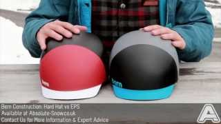 Bern Helmet Construction Explained: Hard Hat VS EPS | Video Review