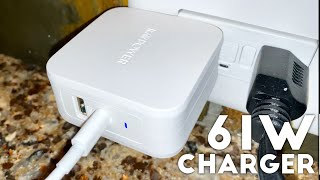 RAVPower Super Fast 61W Type C Power Delivery Charger Review