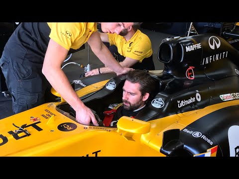 Watching A Non-F1 Driver Wheel An F1 Car Is Incredible