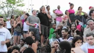 Aaron Neville at Welcome America! concert, Philadelphia
