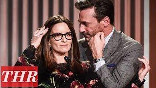 Tina Fey Full Speech (Jon Hamm Opens) at Women in Entertainment  2016 | THR