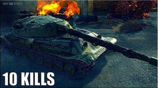 Объект 705А бой 10 фрагов 🌟 ЛБЗ ТТ-15 на Об. 260 🌟 World of Tanks тт 10 уровня СССР