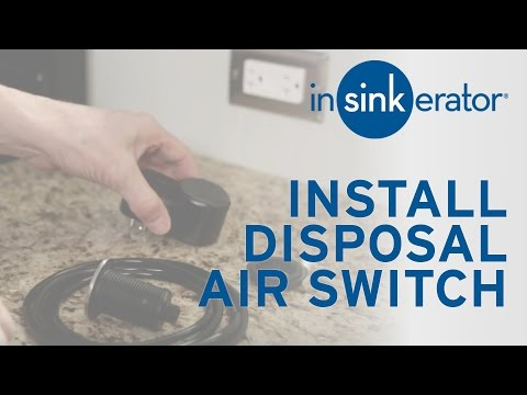 How To: Install Garbage Disposal Air Switch