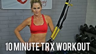 10 Minute Total Body TRX Workout by BodyFit By Amy