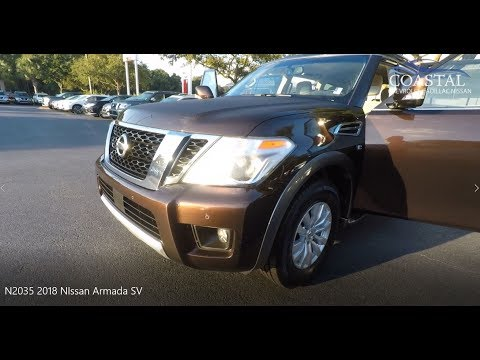 Pre-Owned 2018 Nissan Armada 4x2 SV