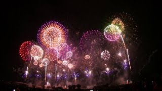 [HD1080p]海外から絶賛!世界一美しい日本の花火大会AmazingThemostbeautifulJapanesefireworksintheworld
