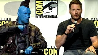 GUARDIANS OF THE GALAXY VOL. 2 Hall H Panel - Part #1 (Comic Con 2016)