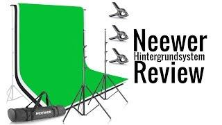 Neewer Hintergrund System - Review