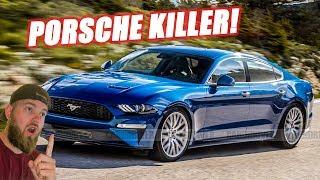 It's Coming! I LOVE the 4 Door Mustang!