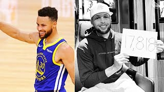 Stephen Curry Goes Crazy Record Breaking 53 Point Game Passing Wilt Chamberlin On Warriors Scoring!