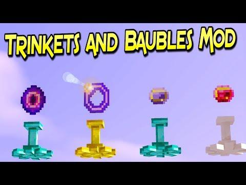 Trinkets and Baubles Mod | Accesorios Y Gemas Poderosas  | Para Minecraft 1.12.2 | Review En Español