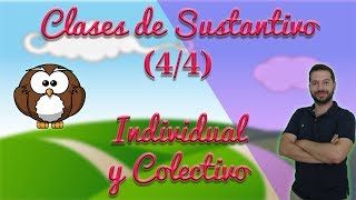 Clases de sustantivos (4/4): concreto y abstracto. (Aprendo y me divierto con Miguel y sus amigos)
