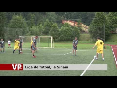 Ligă de fotbal, la Sinaia