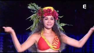 Meilleure danseuse O TAHITI E - Naiki Barrier - Heiva i Tahiti 2016