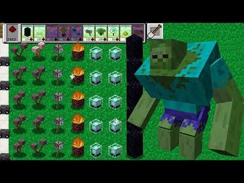 Plants vs Zombies Minecraft Mod 100%!
