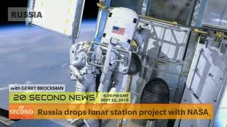 Russia drops lunar station project with NASA - Today's Breaking NEWS Now