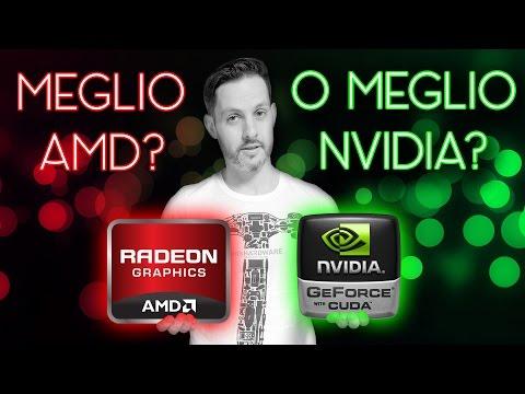 SCHEDA GRAFICA: MEGLIO AMD RADEON O NVIDIA GEFORCE?