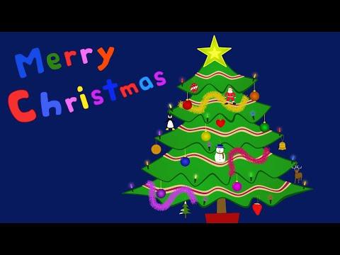 The Christmas tree song - English ESL video lesson