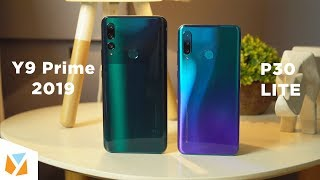 Huawei Y9 Prime (2019) vs Huawei P30 Lite Comparison Review