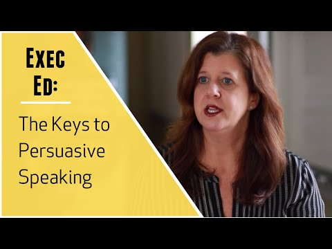 Vanderbilt Executive Education: Persuasive & Influential Speaking Description (Short Program)