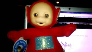 bad talking po the red teletubby