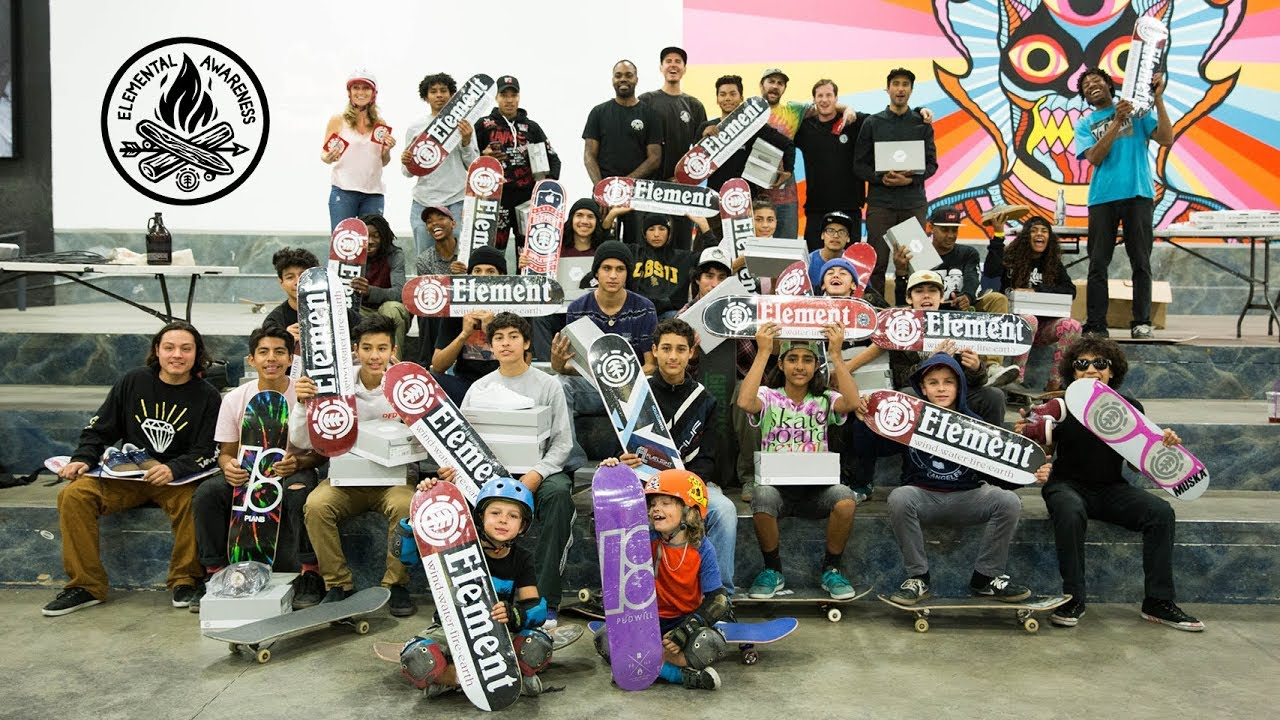 Elemental Awareness Skate Camp Alumni - Element