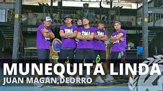MUNEQUITA LINDA by Juan Magan,Deorro,MackJ | Zumba | Merengue | TMLCrew Jay Laurente