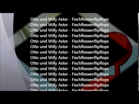 Fisch Flossen Flip Flops (Willy Astor & Otto Walkes) (2)