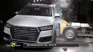 Краш тест нового Audi Q7