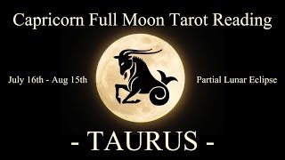 Taurus - No Longer Stuck! - Full Moon/Lunar Eclipse Reading