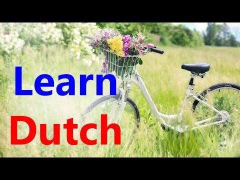Learn Dutch through English   Online free Dutch course