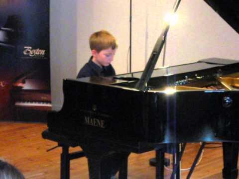 Matthieu's fifth piano concert - L'autunno (from Le quattro stagioni)