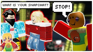 Stopping Online Daters at Club Insanity (Roblox Exploiting)