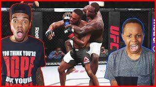 UFC 197 REMATCH - Jon Jones vs Ovince St Preux - EA SPORTS UFC 2 ft. Juice & Trent