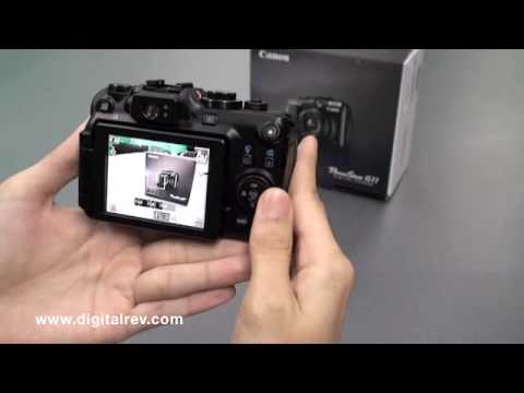 Canon PowerShot G11 -- First Impression Video by DigitalRev