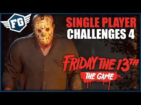 ŽIVÝ TERČ - Friday the 13th: The Game: Challenges #4